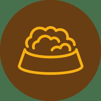 Icona Alimentazione del Jack Russell